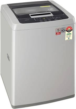 LG 7.0 Kg 5 Star Smart Inverter Fully-Automatic Top Loading Washing Machine - T70Sksf1Z