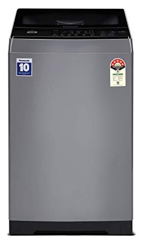 Panasonic 7 Kg 5 Star Fully-Automatic Top Loading Washing Machine (NA-F70LF1HRB, Grey)