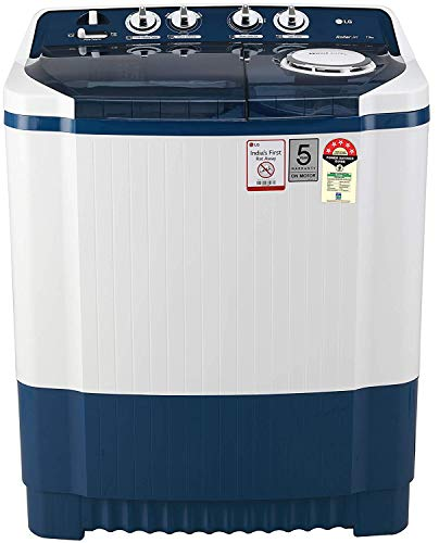 LG 7.5 Kg 5 Star Semi-Automatic Top Loading Washing Machine - P7535Sbmz