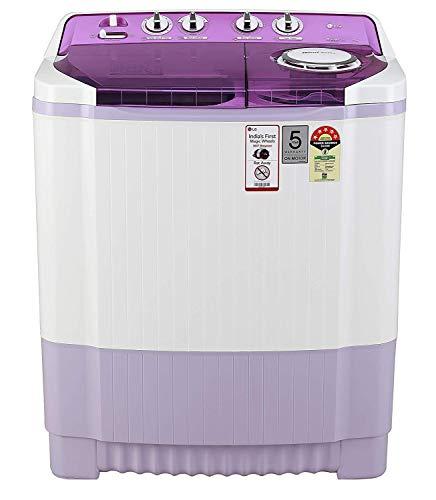 LG 7.5 Kg 5 Star Semi-Automatic Top Loading Washing Machine (Wind Jet Dry) - P7535Smmz