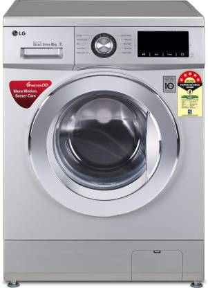 LG 8.0 Kg 5 Star Inverter Fully-Automatic Front Loading Washing Machine (Direct Drive Technology) - Fhm1208Zdl