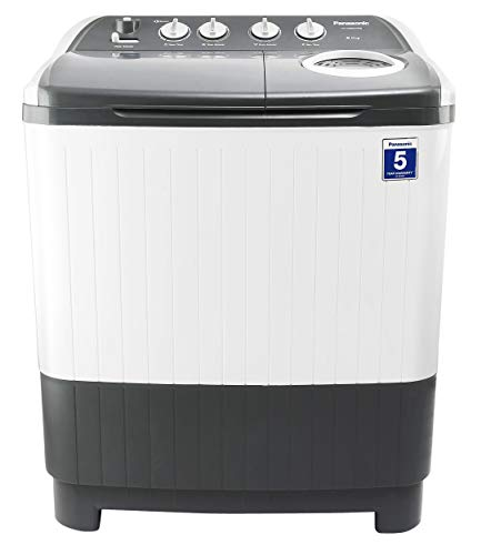 Panasonic 8 Kg 5 Star Semi-Automatic Top Loading Washing Machine (Powerful Motor) - Na-W80E5Hrb