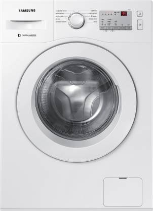 Samsung 6.0 Kg Inverter 5 Star Fully-Automatic Front Loading Washing Machine (Hygiene Steam) - Ww60R20Glma/Tl