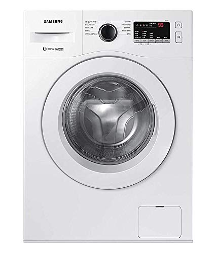 Samsung 6.5 Kg Inverter 5 Star Fully-Automatic Front Loading Washing Machine (Hygiene Steam) - Ww65R20Glsw/Tl