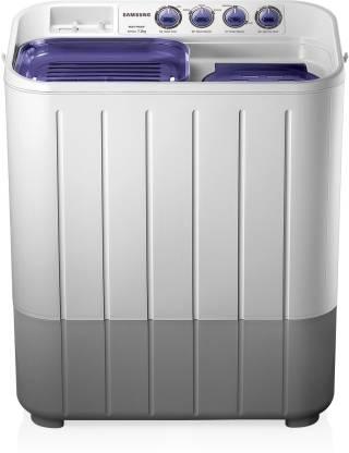 Samsung 7.2 Kg Semi-Automatic Top Loading Washing Machine (Center Jet Pulsator) - Wt725Qpndmpxtl