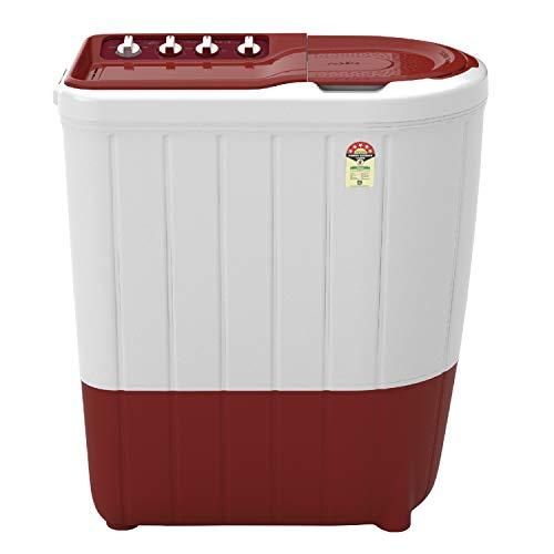 Whirlpool 7 Kg 5 Star Semi-Automatic Top Loading Washing Machine (Turboscrub Technology) - Superb Atom 7.0