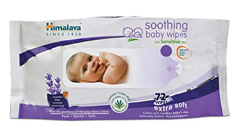 Himalaya Gentle Baby Wipes - 72 Wipes