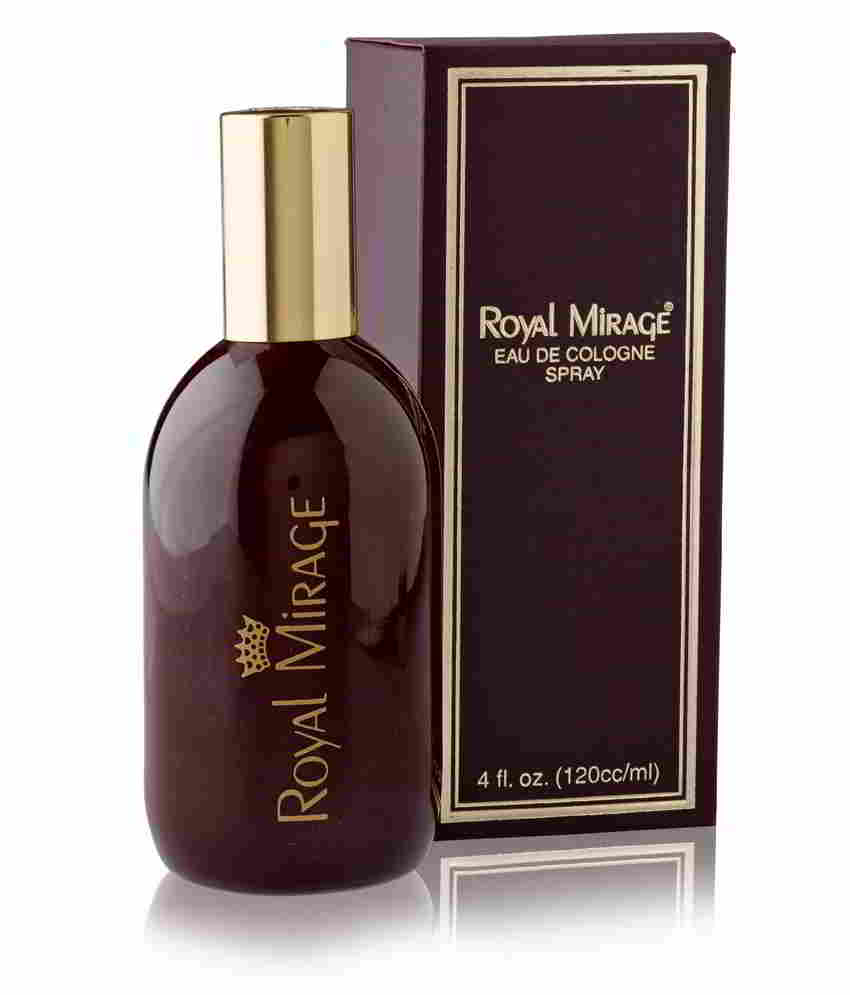 Royal Mirage Brown Eau De Cologne Classic For Men 120 ml