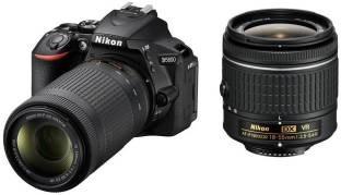 Nikon D5600 DSLR Camera ( With AF-P DX Nikkor 18 - 55mm F/3.5-5.6G VR & AF-P DX Nikkor 70-300 MM F/4.5-6.3G ED VR Lens )