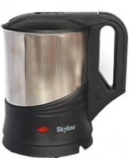 Skyline VTL-5005 Electric Kettle, 1.2 L (Black & Silver)
