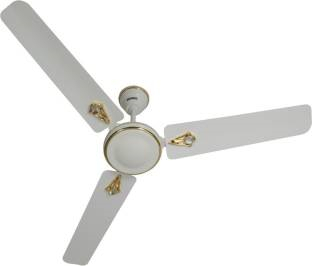 Usha Striker 1200 mm Decorative Ceiling Fan (White)