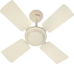 Usha Swift 600 mm Ceiling Fan (Ivory/Yellow)