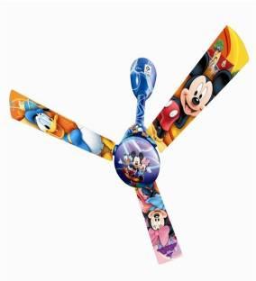 Bajaj Disney Micky & Friends 1200 mm Ceiling Fan (Multicolor)