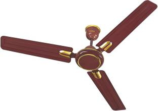 Surya Udan Deco 1200 mm Decorative Ceiling Fan (Maroon)