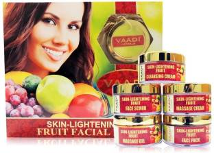 Vaadi Herbals Skin-Lightening Fruit Facial Kit 270gm 270 G