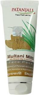 Patanjali Aloe Vera Multani Mitti Face Pack 60 GM
