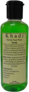 Khadi Herbal Neem Face Wash 210 ml
