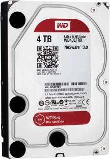 WD WD40EFRX 4 TB NAS Internal Hard Disk