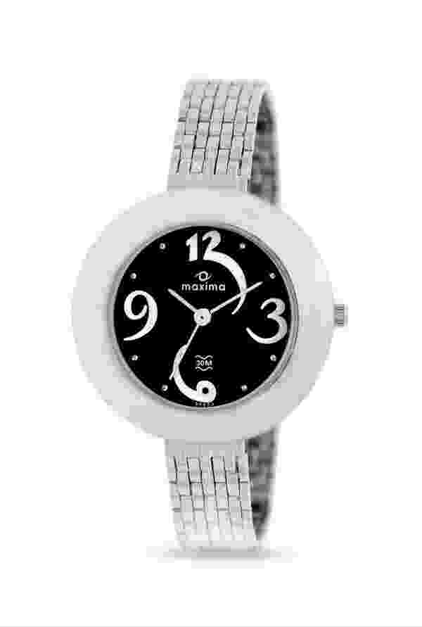 Maxima 39652CMLI Analog Black Dial Women's Watch (39652CMLI)