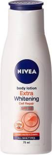 Nivea Extra Whitening Cell Repair Body Lotion 75ml