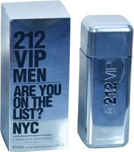 Carolina Herrera 212 Vip Nyc EDT Spray For Men 100 ml