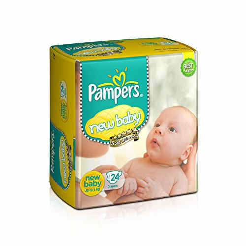Pampers New New Born Diapers (24 Pieces)