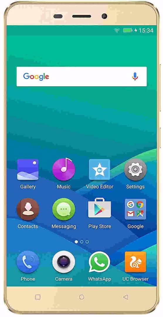 Gionee P7 Max 32GB Gold Mobile