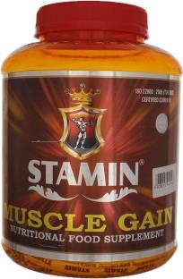 Stamin Nutrition Muscle Gain (2Kg, Strawberry)