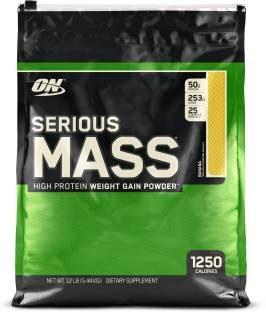 Optimum Nutrition Serious Mass (5.44Kg, Banana)