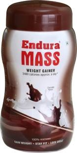 Endura Mass Weight Gainer (500gm, Chocolate)