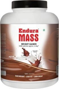 Endura Mass Weight Gainer (3Kg, Chocolate)
