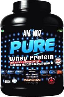 Aminoz Pure Whey Protein (997gm, Chocolate)
