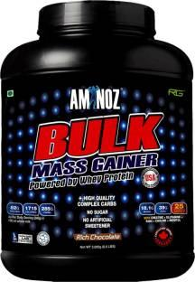 Aminoz Bulk Mass Gainer (3Kg, Chocolate)