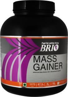 Brio Mass Gainer (3Kg, Banana)