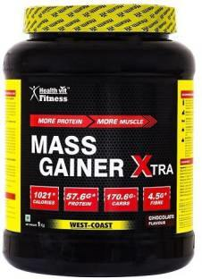 Healthvit Xtra Mass Gainer (1Kg, Chocolate)