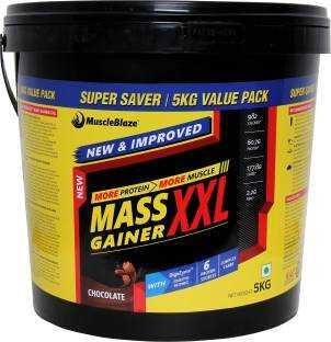 MuscleBlaze Mass Gainer XXL (5Kg, Chocolate)