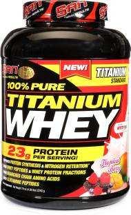 SAN 100% Pure Titanium Whey Protein (2.2Kg, Berry)