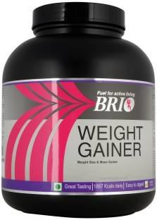 Brio Weight Gainer (3Kg, Kesar Badam Pista)