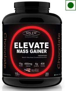 Sinew Elevate Mass Gainer (2Kg, Chocolate)