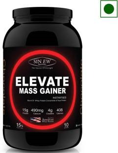 Sinew Elevate Mass Gainer (1Kg, Chocolate)