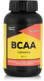Healthvit BCAA 2:1:1 1000mg Supplement (60 Capsules)