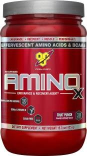 BSN Amino X Dietary Supplement (435gm / 0.96lbs, Fruit Punch)