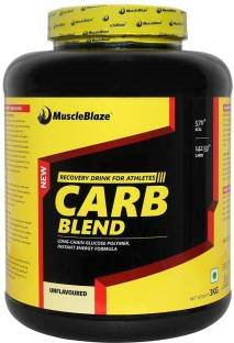 MuscleBlaze Carb Blend (3Kg, Unflavoured)