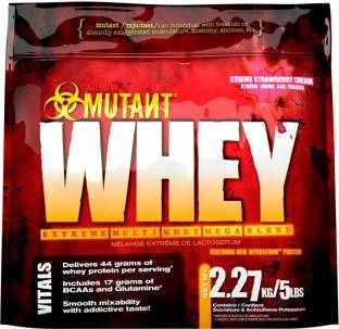 Mutant Whey Protein (2.27Kg, Strawberry)