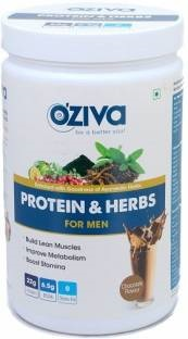 O'Ziva Protein & Herbs For Men (500gm, Chocolate)