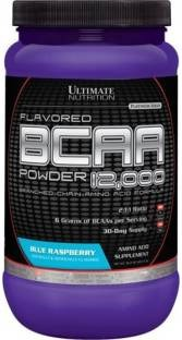 Ultimate Nutrition Flavored Bcaa Powder 12000 (457gm, Blue Raspberry)