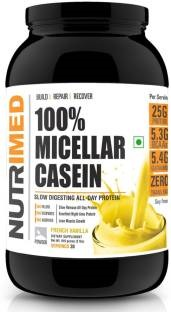 Nutrimed 100% Micellar Casein Protein (908gm, Vanilla)