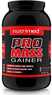 Nutrimed Pro Mass Gainer (1Kg, Chocolate)