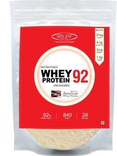 Sinew Nutrition Instantised Whey Protein 92 (840gm, Unflavoured)