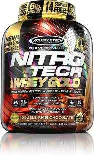 Muscletech Nitro Tech Whey Gold Protein (2.72Kg, Chocolate)